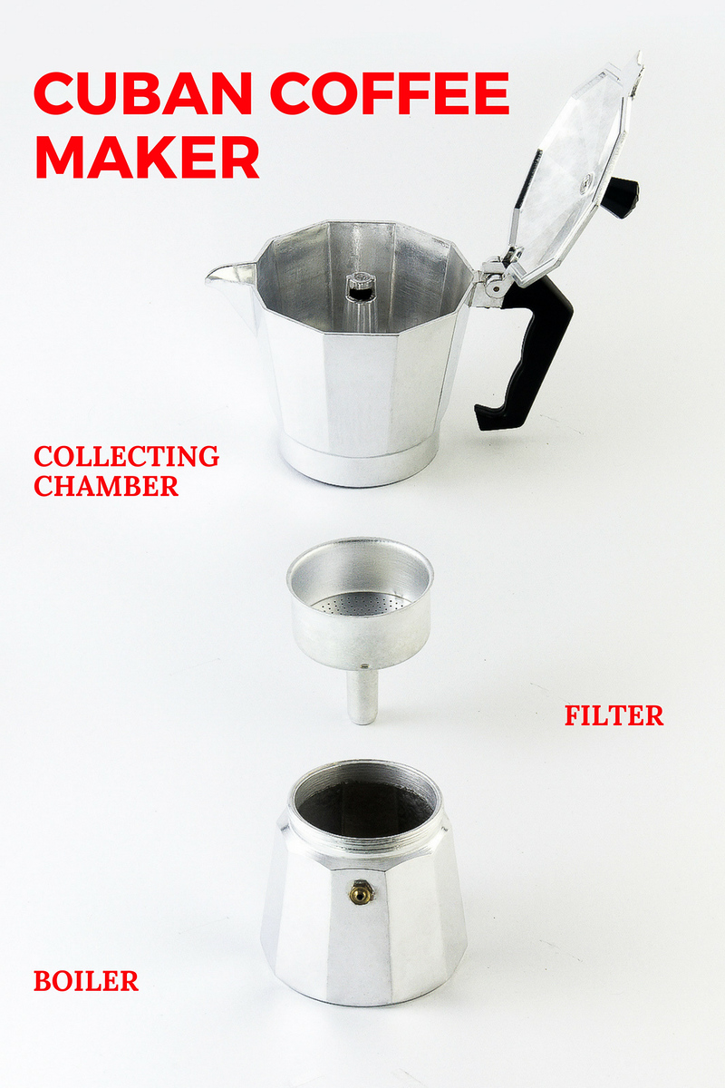 Learn how to make Cuban coffee aka Cafe Cubana with a cafetera coffee maker. It's much easier than you think.