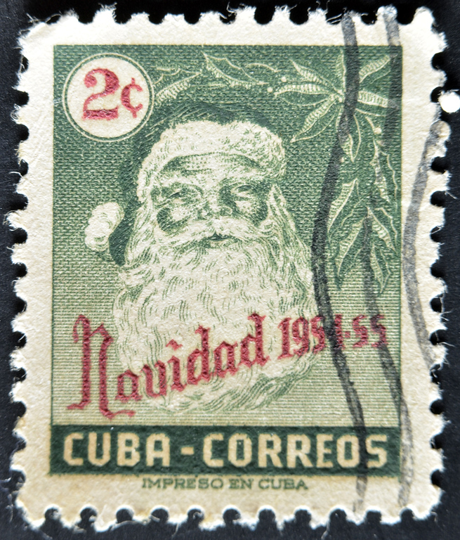 Christmas in Cuba stamp. The country banned Christmas for 30 years, here's a guide for what to do in Cuba over Christmas