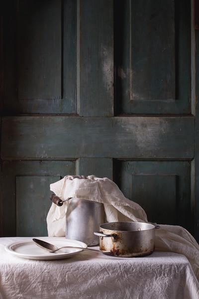 Rustic kitchenware