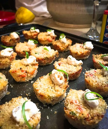Mini Lobster Cakes