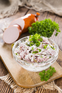 Meat Salad With Mayonnaise