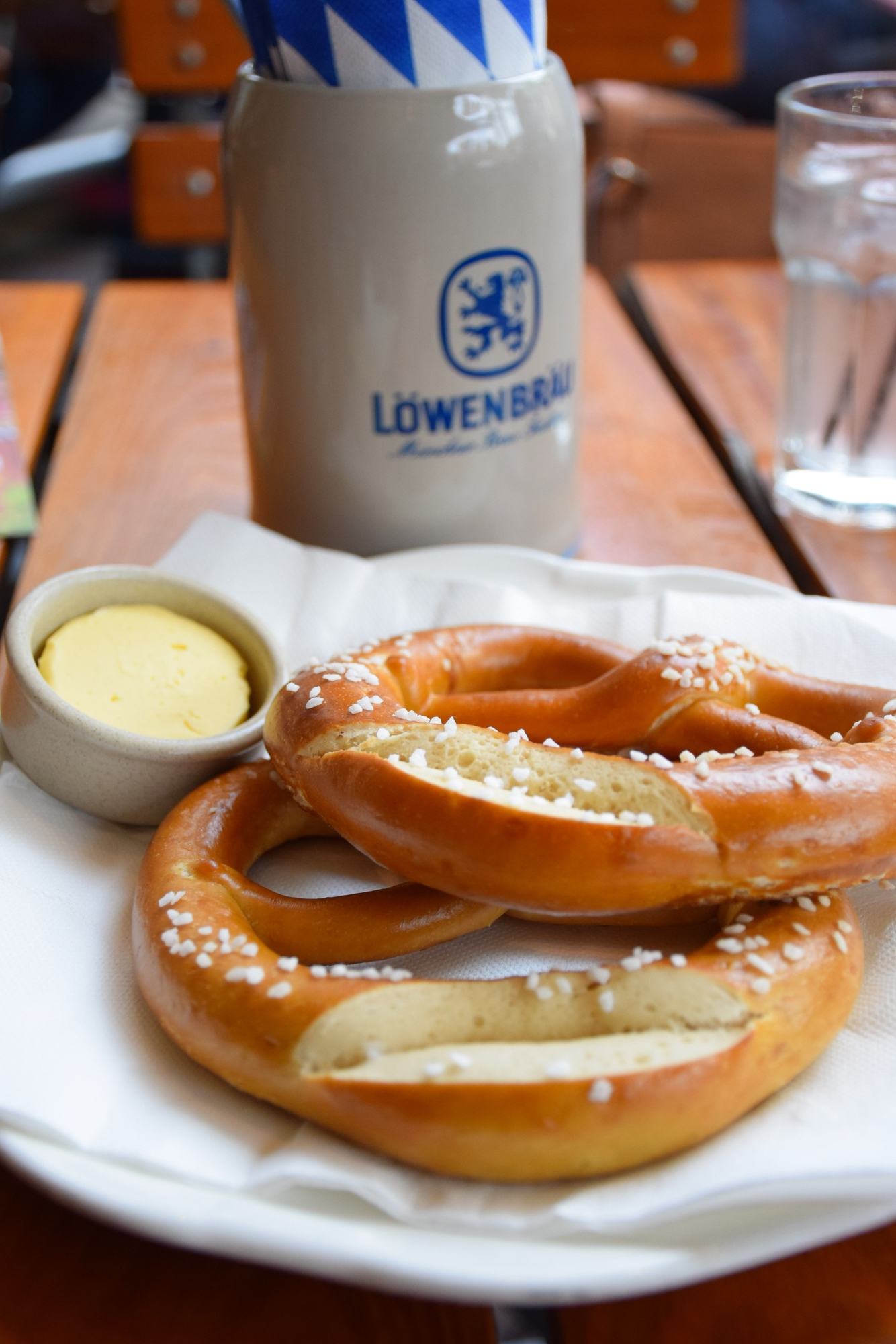 Pretzels are just one Oktoberfest food you need to try, discover the other things to eat at Oktoberfest.