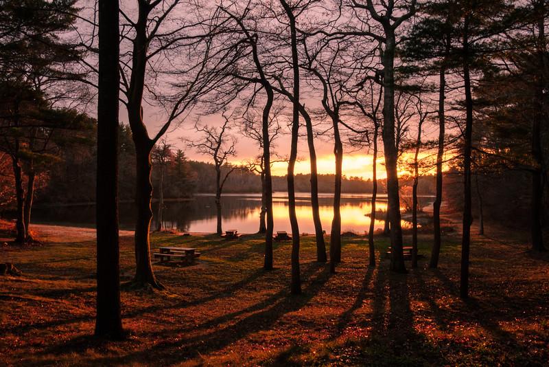 Morton Park Sundown