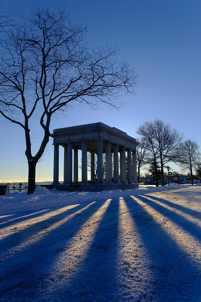 Plymouth Rock Snowfall