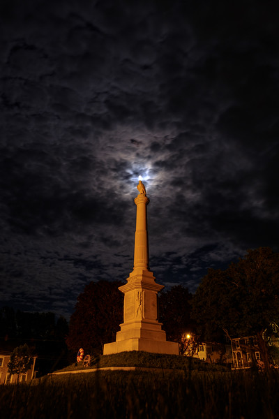 Moon Statue