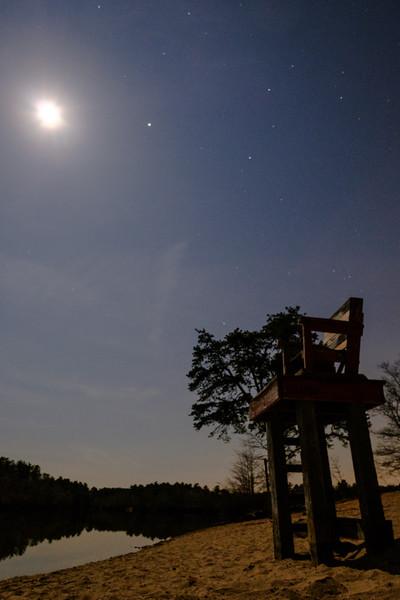 Moon Lit Tower