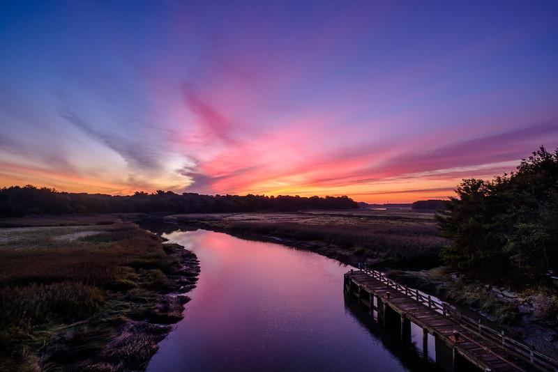 Dawn at Jones River