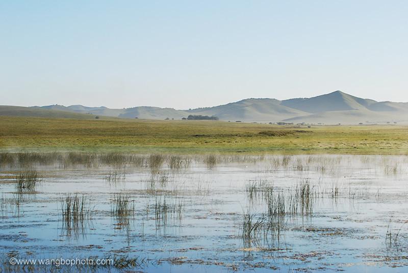 坝上●小野鸭湖 - 一镜收江南 - 清韵