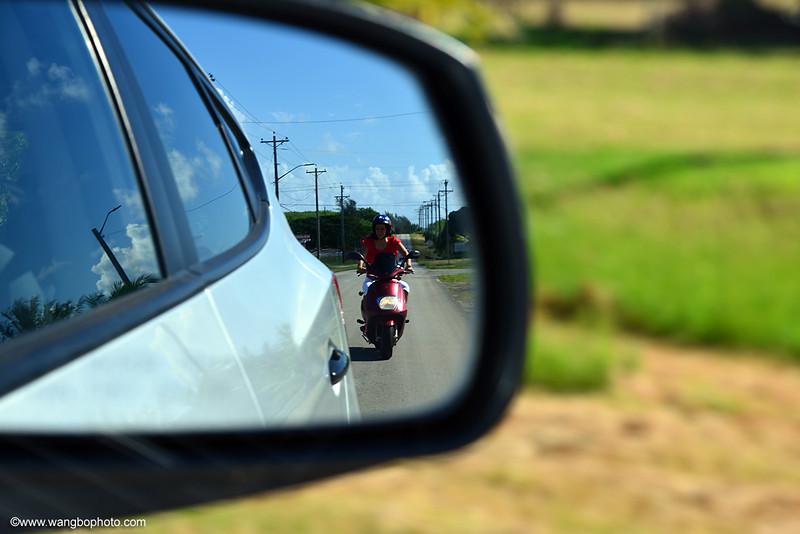 骑摩托游天宁岛 (美国 塞班游) - 一镜收江南 - 清韵