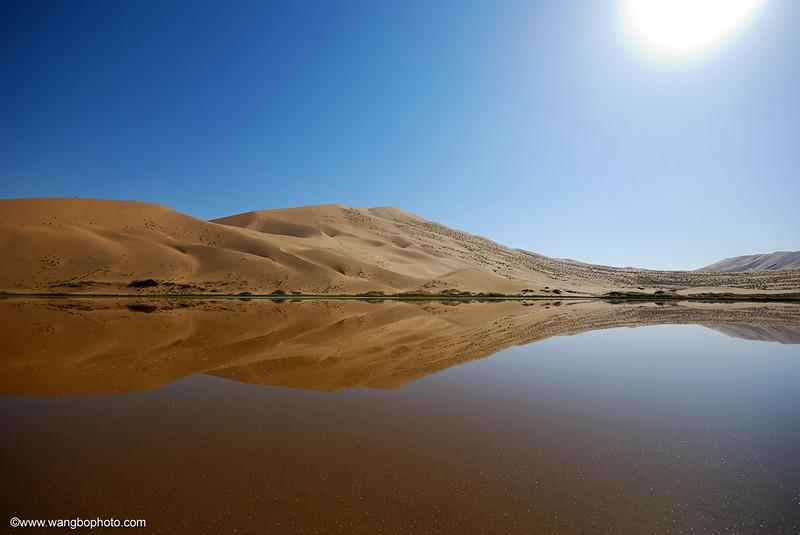 上帝划下的曲线 - 巴丹吉林沙漠 - 一镜收江南 - 清韵