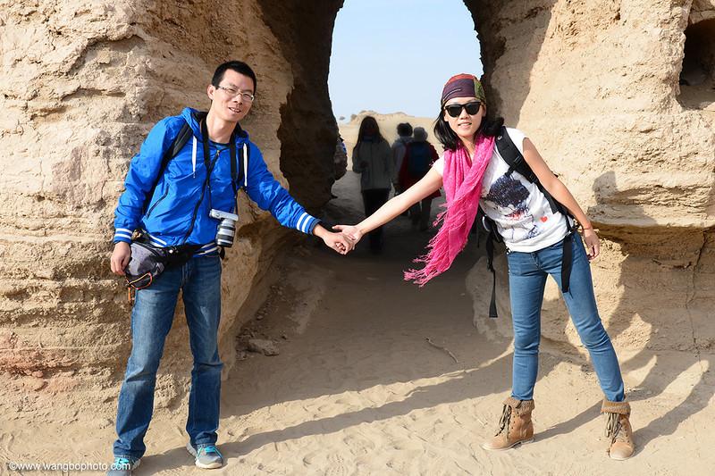 我的丹霞沙漠胡杨林之旅 (一) - 一镜收江南 - 清韵