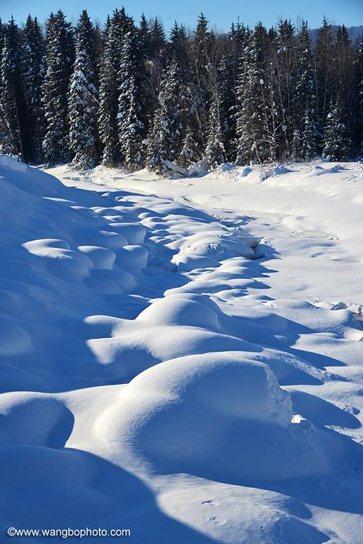 冬季的禾木 - 一镜收江南 - 清韵
