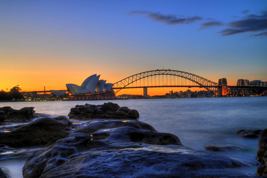 悉尼城市旅行攻略 - 建筑历史文化之旅 - 一镜收江南 - 清韵