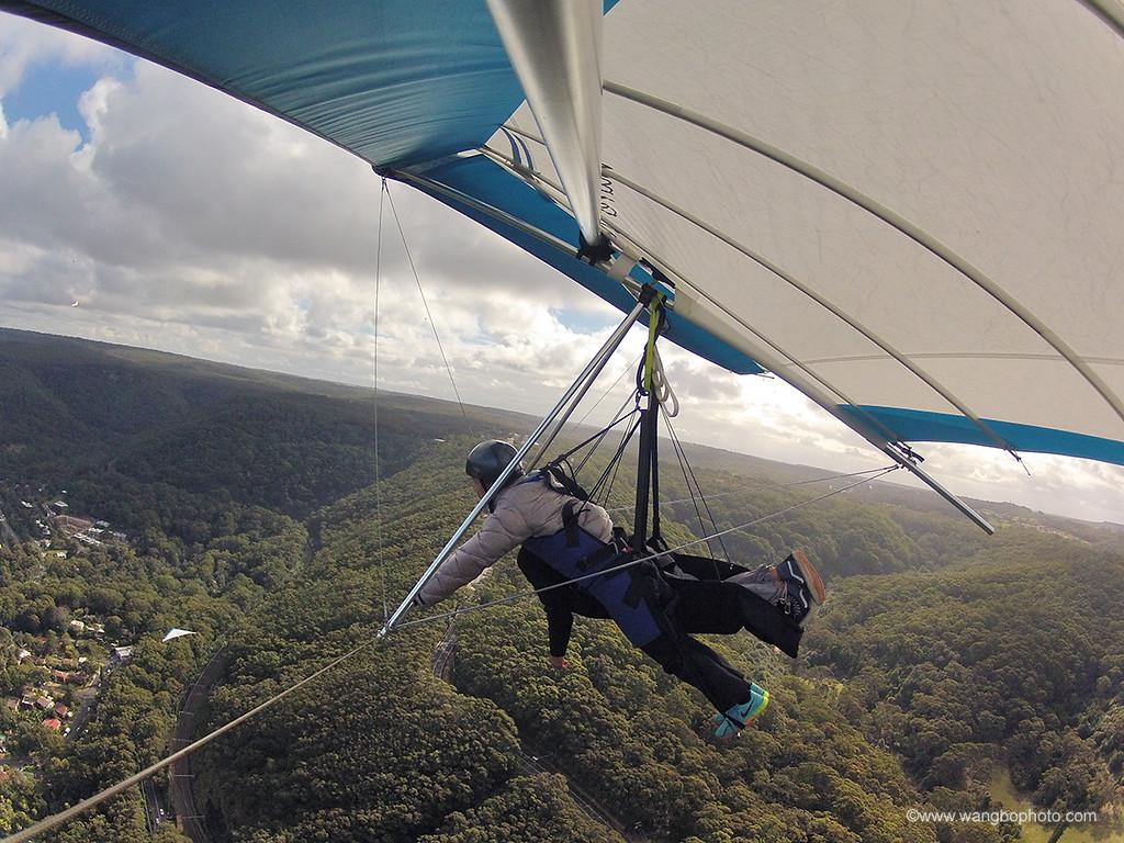 我要飞得更高 -- Hang Gliding - 一镜收江南 - 清韵