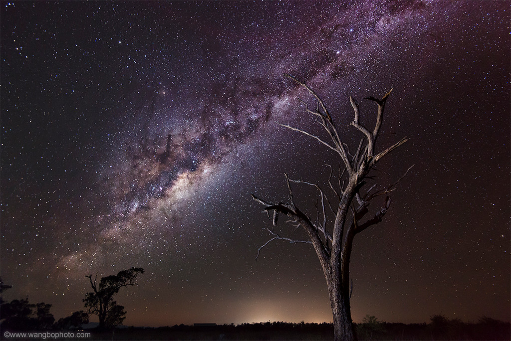 如何拍摄星空 - 一镜收江南 - 清韵