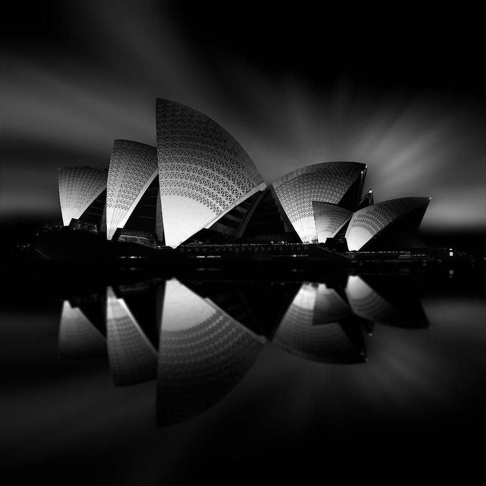 黑白灰度建筑拍摄和后期 - 一镜收江南 - 清韵