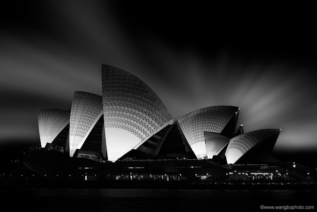 黑白灰度建筑 - 一镜收江南 - 清韵