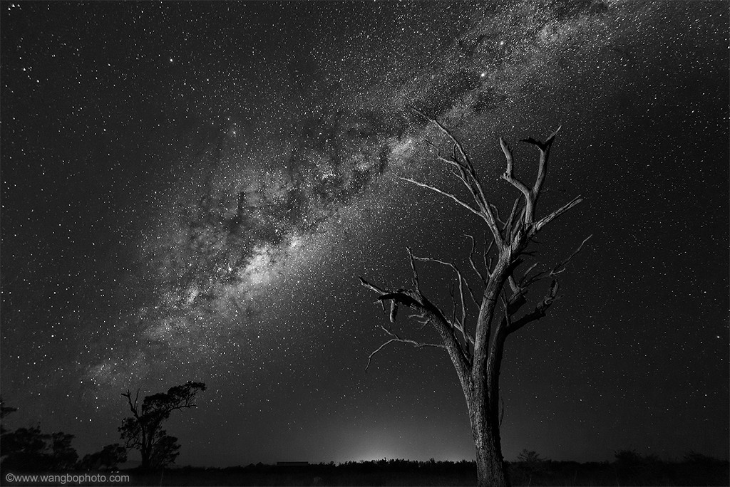 探索世界上最纯净的星空 -- 夜访ATCA澳大利亚望远镜阵列(Australia Telescope Compact Array) - 一镜收江南 - 清韵