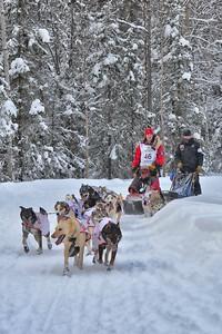 Ryne Olson - Ceremonial Start of the 2012 Iditarod