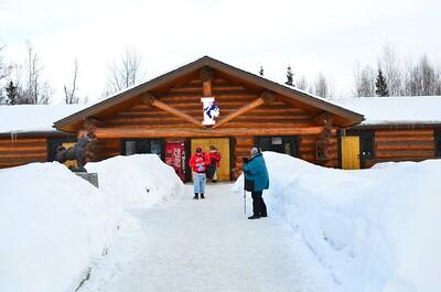 Iditarod Headquarters in Wasilla, Alaska