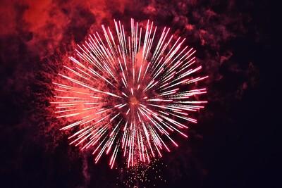 Fireworks for Fur Ronde Festival