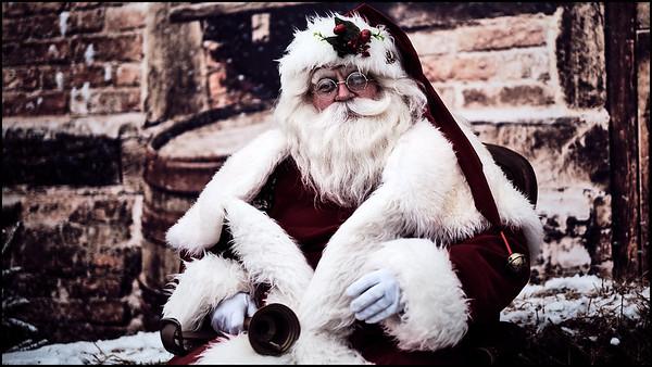 Kerstman   Santa   Dickens Day 2018