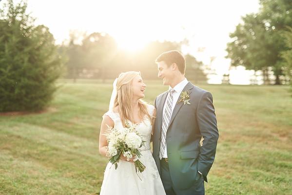 Brooke + Jonathan . Married in Dalton, GA