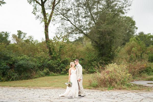 Carey + Britt . Married in Porterdale, GA