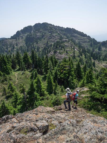 Down off Mt. Joan
