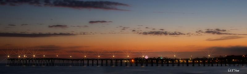Sunset at the Ventura pier