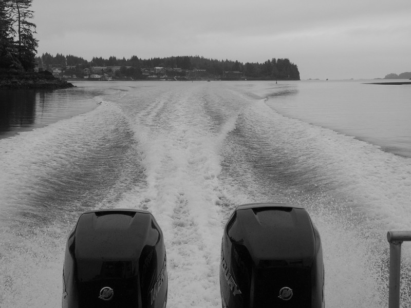 Heading out from Tofino Saturday morning.