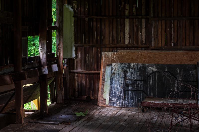 Summer in the barn