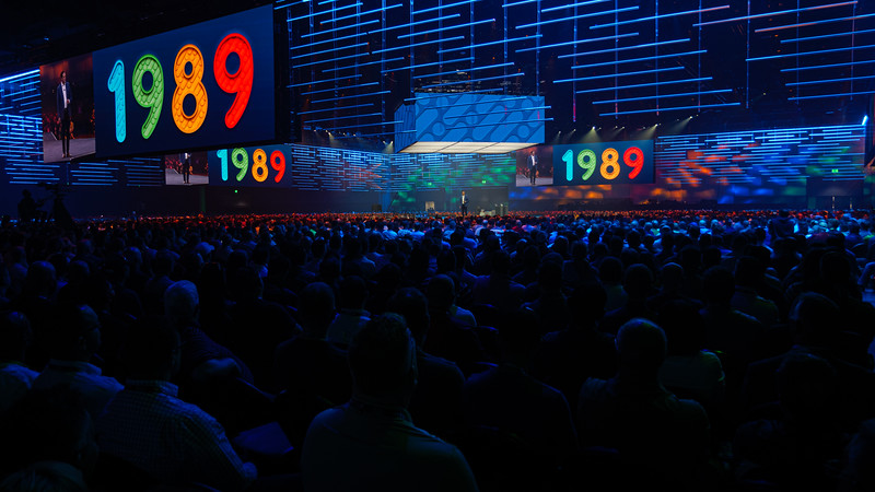 Cisco Live 2019 San Diego.  First conference was in 1989...