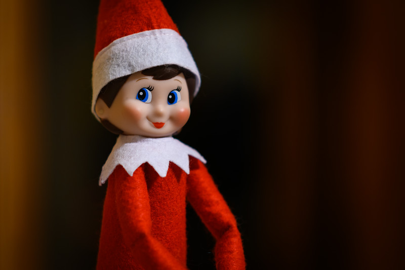 Elf on the Shelf portrait session 2018 ;-)