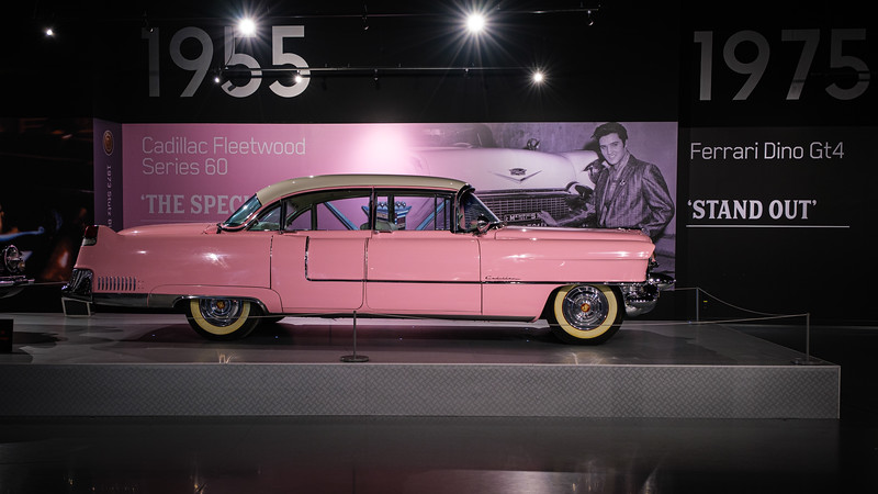Elvis' pink Caddy