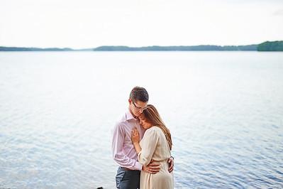 Katie + Blake . Engaged . Lake Lanier