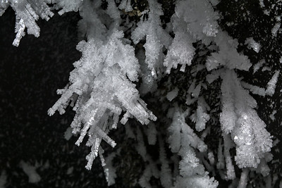 Columnar Ice Crystals and Hoarfrost
