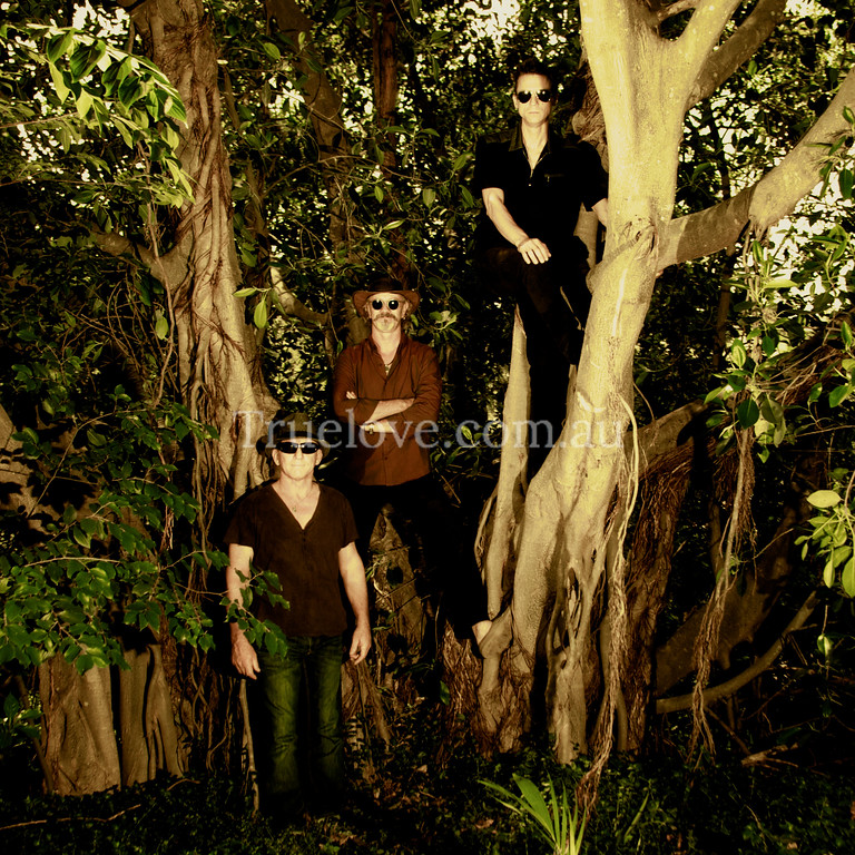"""12.3.2013<br /> <br /> At the Sydney band 'Seeder' photo session, being one with nature in the bushland behind Underfoot Records.<br /> <br /> <a href=""""http://www.underfootrecords.com.au"""">http://www.underfootrecords.com.au</a><br /> <br /> Our collaborative history goes back as far as 1998 when Truelove Studios made video clips for 'Seeder', see them here:<br /> 'Fifty Bullets'<br /> <a href=""""http://vimeo.com/7162634"""">http://vimeo.com/7162634</a><br /> 'If You Want'<br /> <a href=""""http://vimeo.com/7162144"""">http://vimeo.com/7162144</a><br /> <br /> <br /> © Tess Peni 2013"""