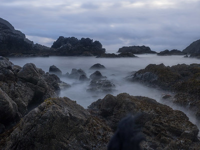 A long-exposure at Third Beach