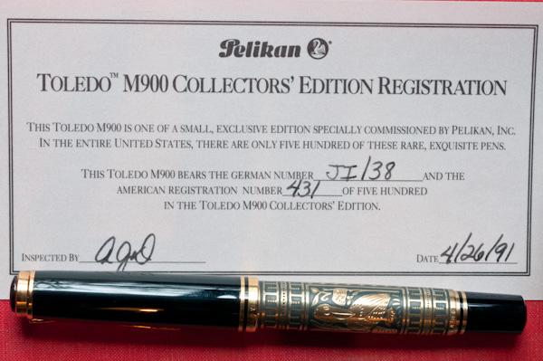 Toledo Certificate