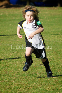 19.05.2012     All or Nothin'  Under 6 Gladesville Ravens soccer team member Lucy is the only girl on the team, and her mum is the coach, she gives everything she's got v's Macquarie Park Dragons.  Nikon D200 200mm f/8 1/1000 ISO 400