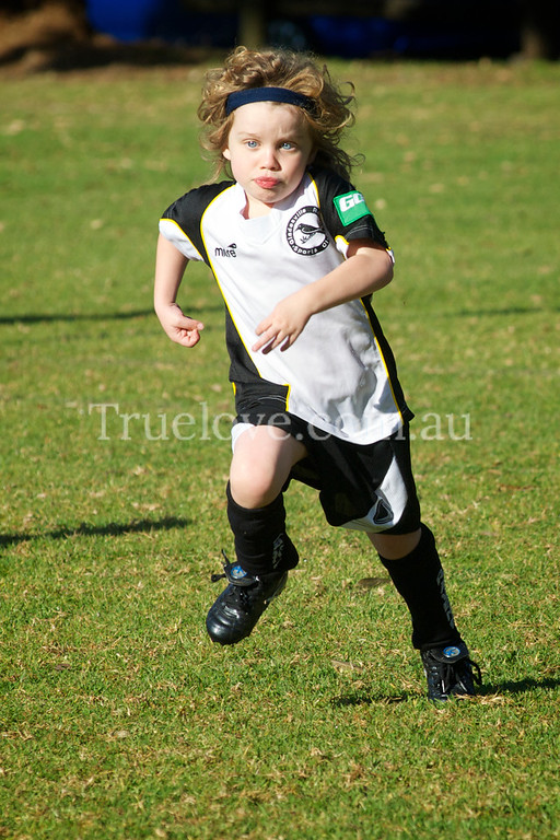 19.05.2012     All or Nothin'<br /> <br /> Under 6 Gladesville Ravens soccer team member Lucy is the only girl on the team, and her mum is the coach, she gives everything she's got v's Macquarie Park Dragons.<br /> <br /> Nikon D200 200mm f/8 1/1000 ISO 400