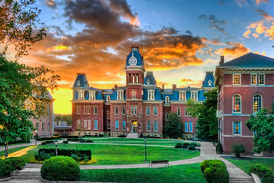 Woodburn Hall evening sunset