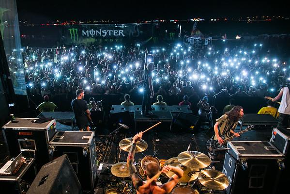 The Word Alive in Phoenix, AZ on Vans Warped Tour 2016