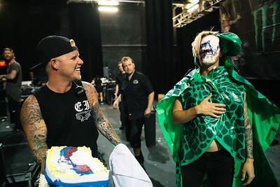 Telles B-Day Cake in Vegas