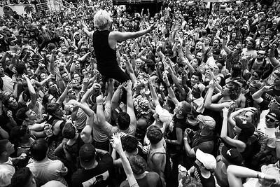 Telle Smith in Camden, NJ on Vans Warped Tour 2016