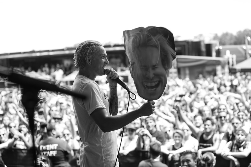 Sid in Orlando, FL on Vans Warped Tour 2016