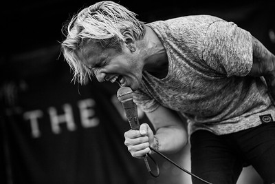 Telle Smith in Indianapolis, IN on Vans Warped Tour 2016