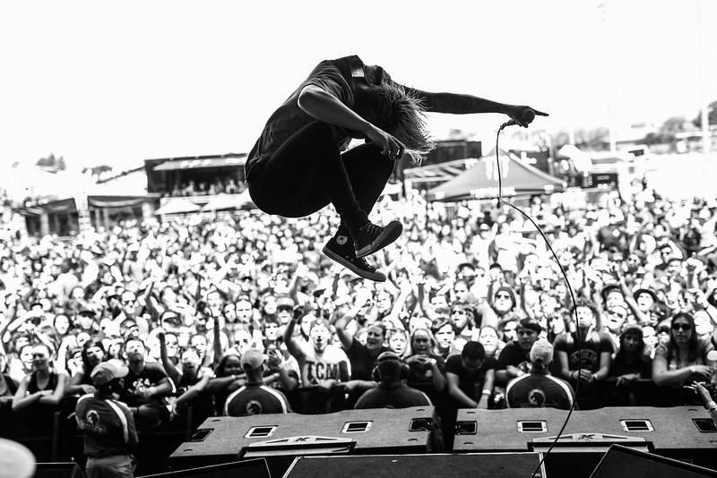 Telle Smith in Pomona, CA on Vans Warped Tour 2016