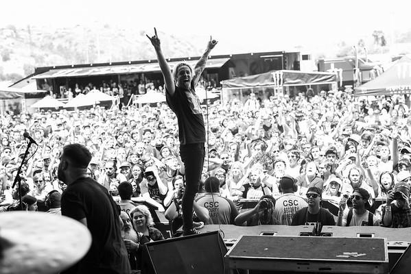 The Word Alive in San Diego, CA on Vans Warped Tour 2016